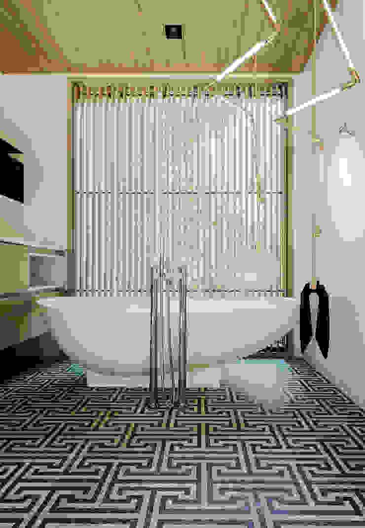 Twin Peaks Modern bathroom by Feldman Architecture Modern
