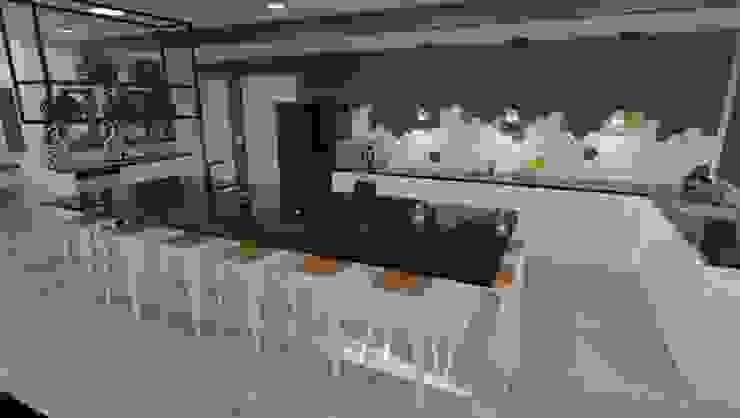 Kitchen Modern kitchen by RooMoo Modern