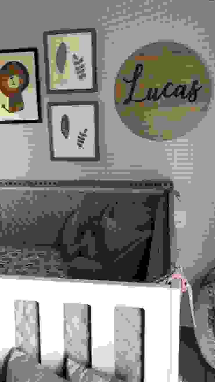 Diseño de habitación Bebé - Lucas by ea interiorismo Dormitorios infantiles industriales de ea interiorismo Industrial