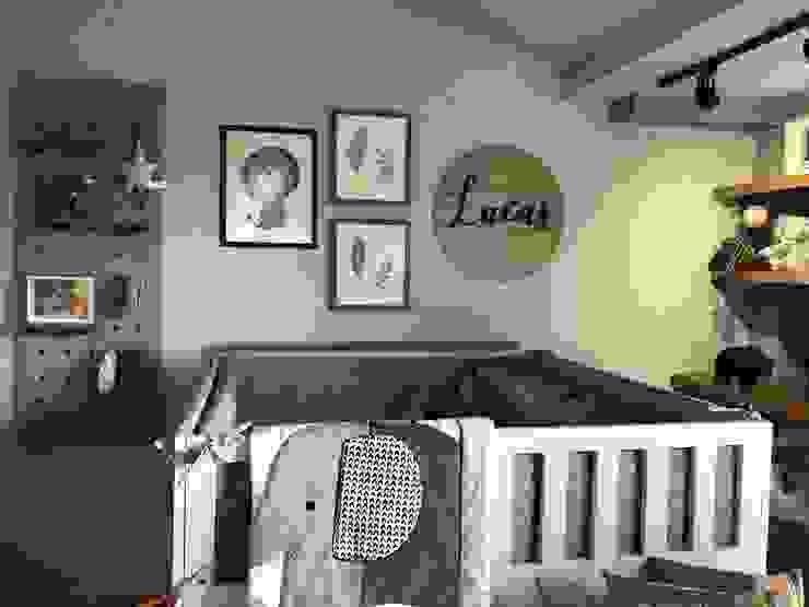 ea interiorismo Baby room Grey