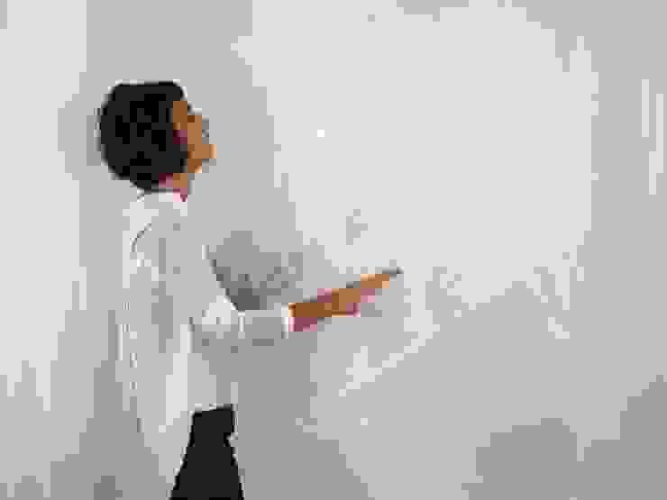 Cortinas Ana Salomé Branco SalonesAccesorios y decoración Textil Blanco
