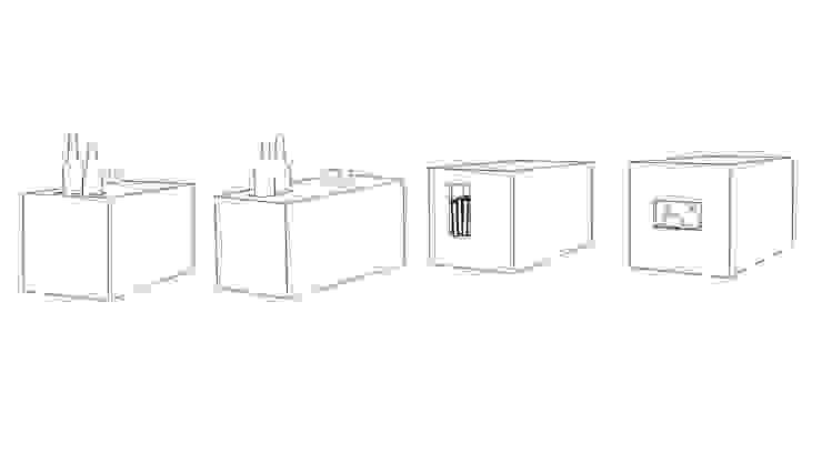 CUBOTABLE di Altro_Studio Minimalista