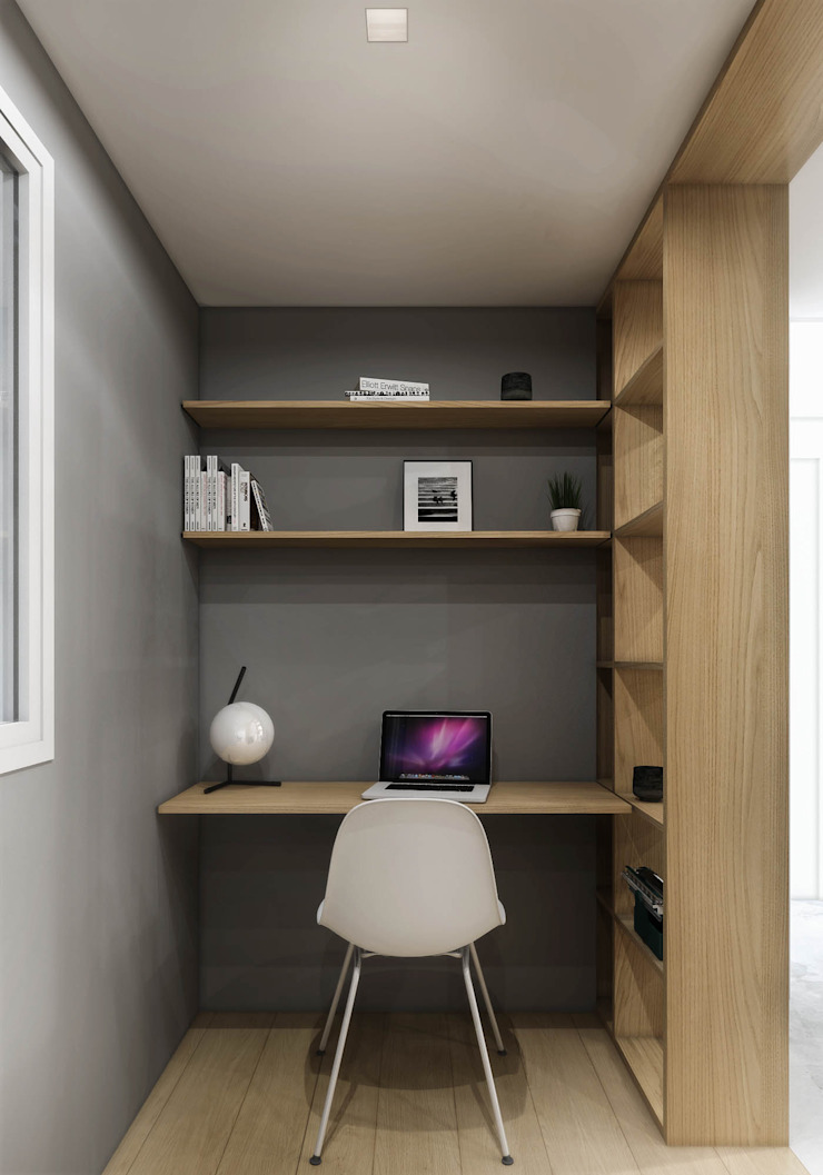 Modern Study Room and Home Office by HOA Architecture and Design Modern
