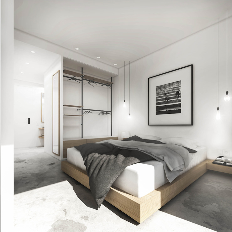 Modern Bedroom by HOA Architecture and Design Modern