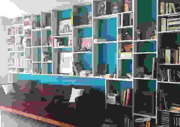 Escritórios modernos por Mulizh Decor Studio Moderno