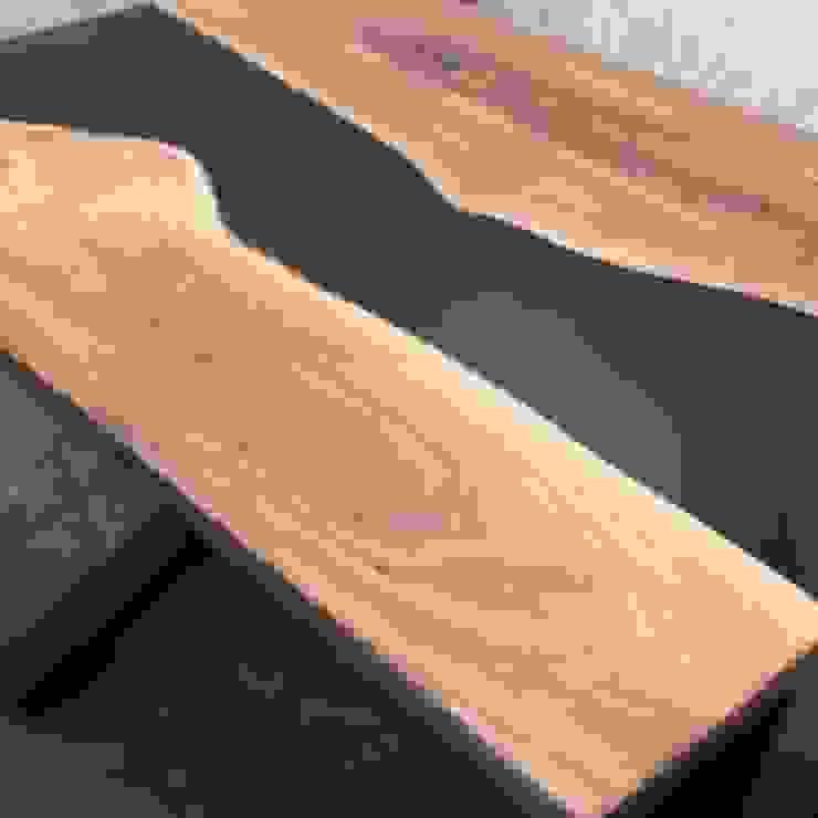 Top Table Resin Oleh Niaga Harade Cemerlang Minimalis Kayu Wood effect