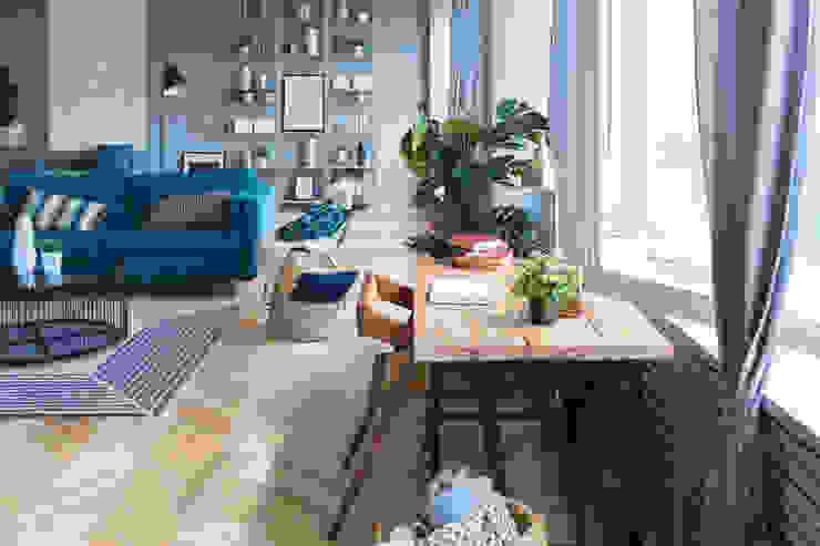Living Room Minimalist living room by Rebel Designs Minimalist Iron/Steel