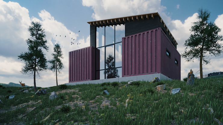 Container Home Zero Point Visuals Prefabricated Home