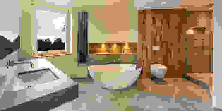 Bathroom Design Vivante Moderne Badezimmer Beige