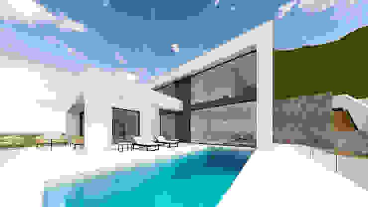 Villa 17 en La Sella. Alicante. de Barreres del Mundo Architects. Arquitectos e interioristas en Valencia.