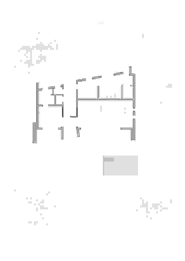 Planta primera. Espacios principales de Barreres del Mundo Architects. Arquitectos e interioristas en Valencia.