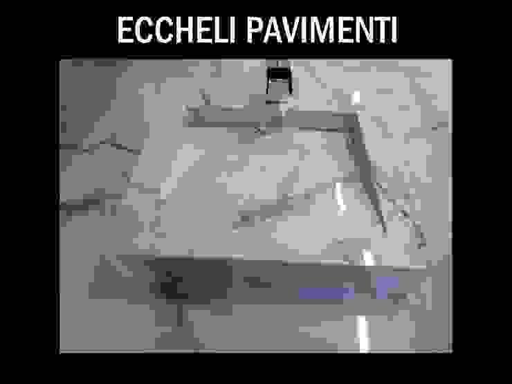 Classic style bathroom by Eccheli Pavimenti e Rivestimenti Classic Tiles