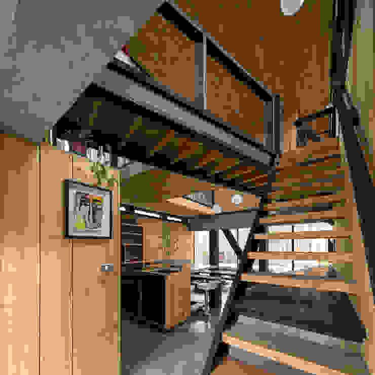 Casa FS de Estudio Dikenstein arquitectos Minimalista Madera Acabado en madera