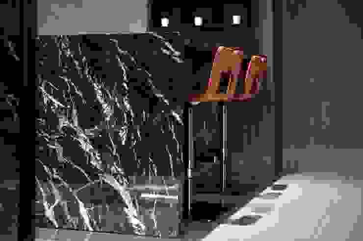 聖德天韻吳公館 現代廚房設計點子、靈感&圖片 根據 大漢創研室內裝修設計有限公司 現代風