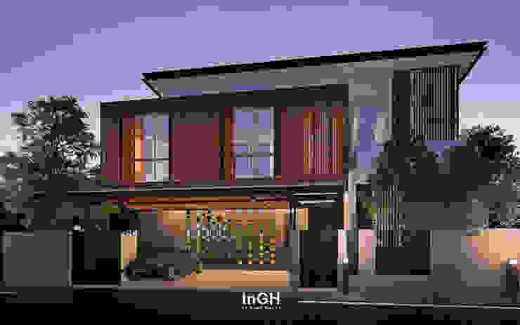 GSU, GSU-i : งานออกแบบโครงการบ้าน2ชั้น ภายนอกและภายใน InGH Architects co.,ltd (บจก.อินจีเอช สถาปนิก)