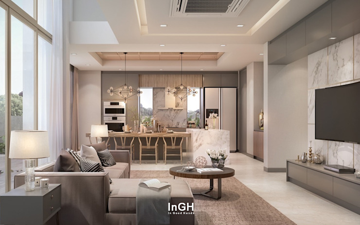 by InGH Architects co.,ltd (บจก.อินจีเอช สถาปนิก)