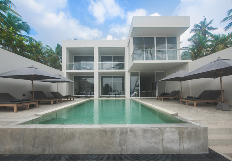The Summer House a-designstudio Minimalist houses