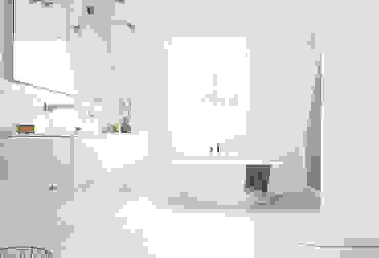 Penthouse Moderne Badezimmer von AGNES MORGUET Interior Art & Design Modern