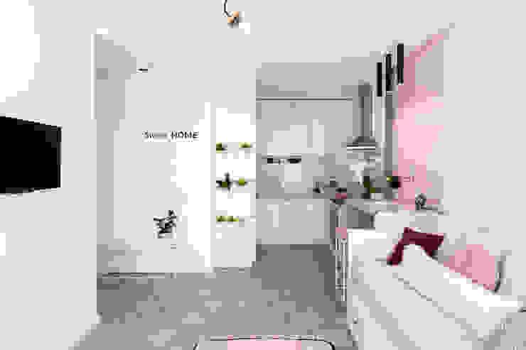 SAZONOVA group Scandinavian style kitchen