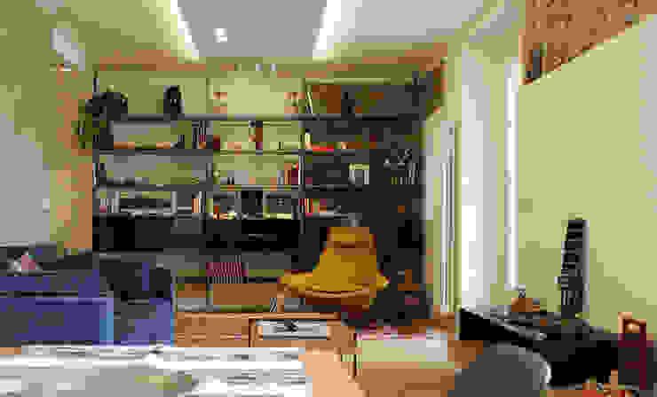 Salon moderne par Onice Architetti Moderne Briques