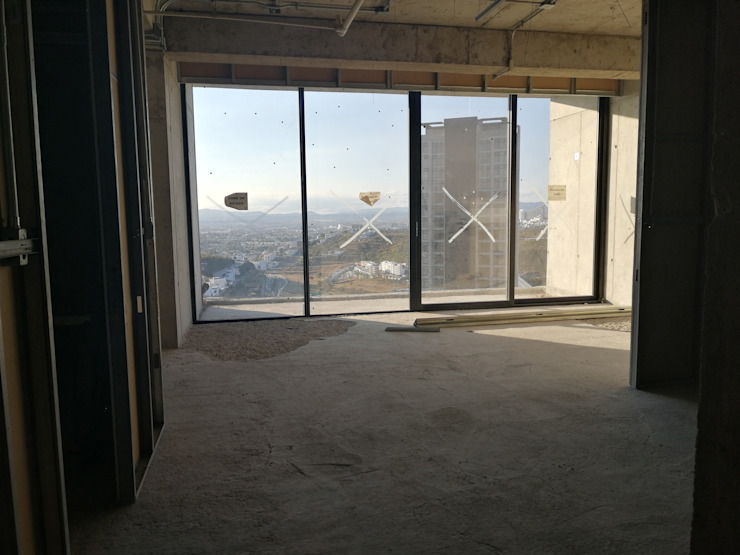 VillaSi Construcciones Ingresso, Corridoio & Scale in stile moderno