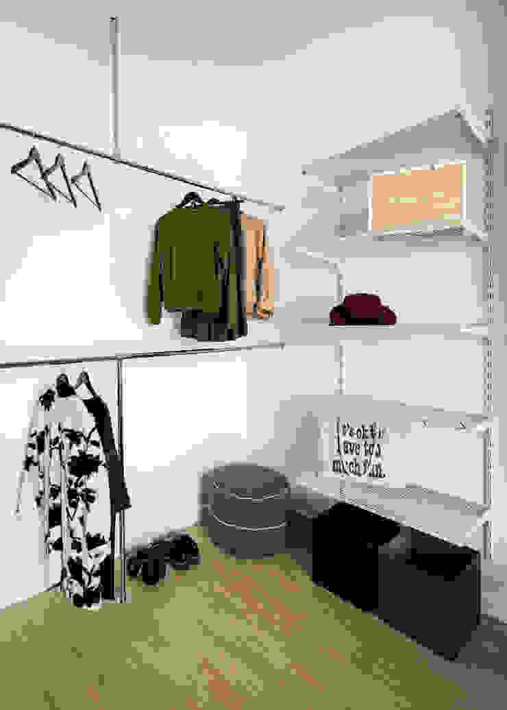 SAZONOVA group Industrial style dressing room