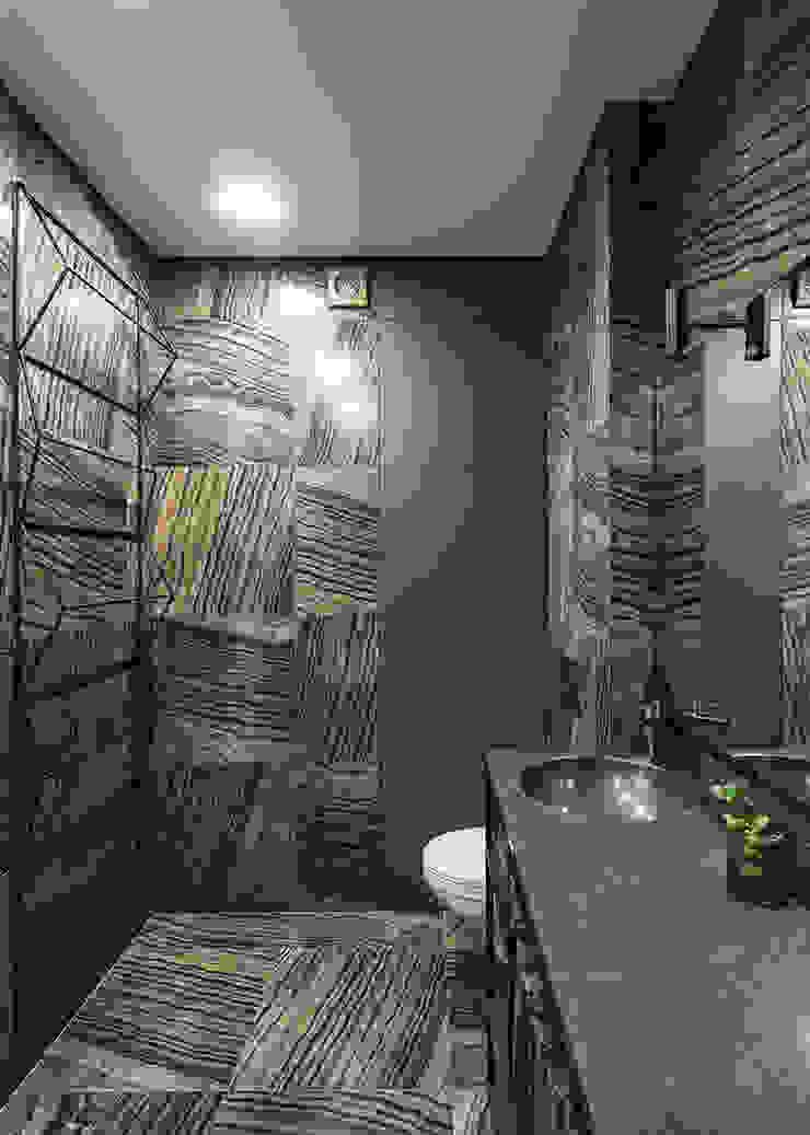 SAZONOVA group Industrial style bathroom