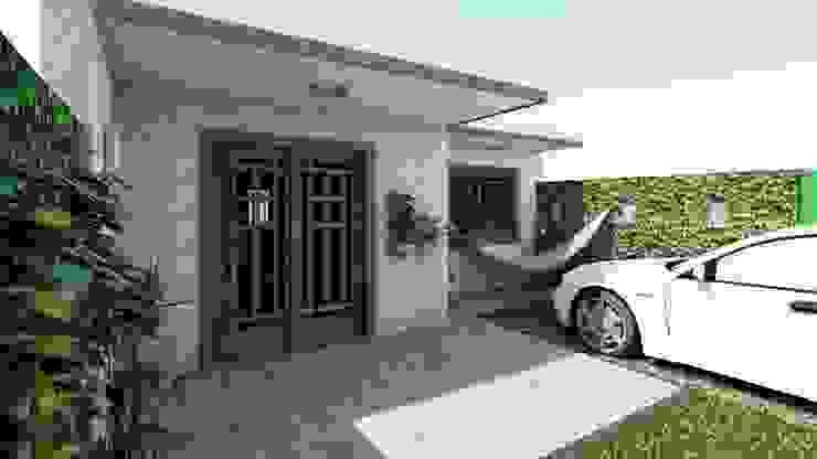 Casa Samambaia Casas modernas por Graziela Alessio Arquitetura Moderno Pedra
