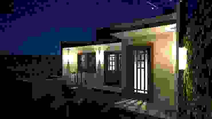 Casa Samambaia Casas rústicas por Graziela Alessio Arquitetura Rústico Madeira Efeito de madeira