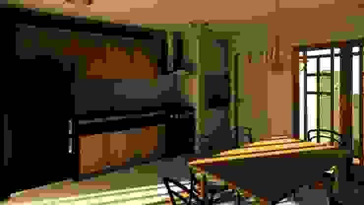 Casa Samambaia por Graziela Alessio Arquitetura Eclético MDF