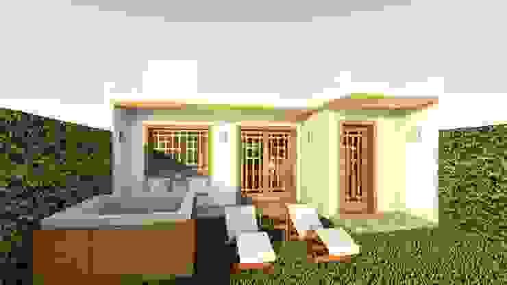 Casa Samambaia por Graziela Alessio Arquitetura Moderno Arenito