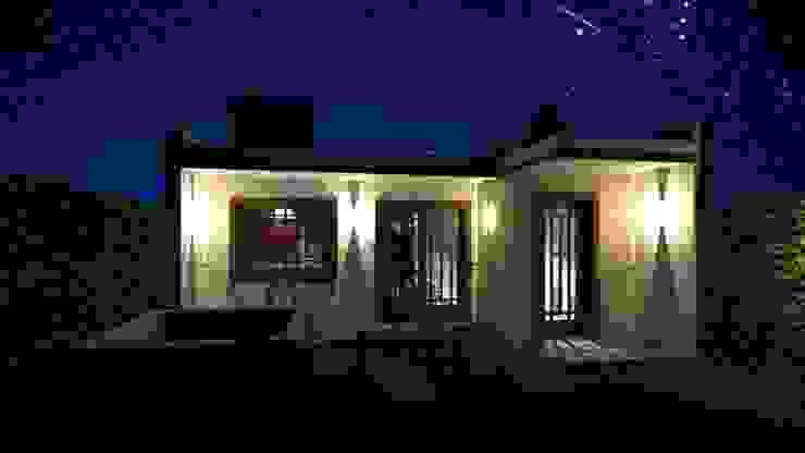 Casa Samambaia Casas rústicas por Graziela Alessio Arquitetura Rústico Pedra