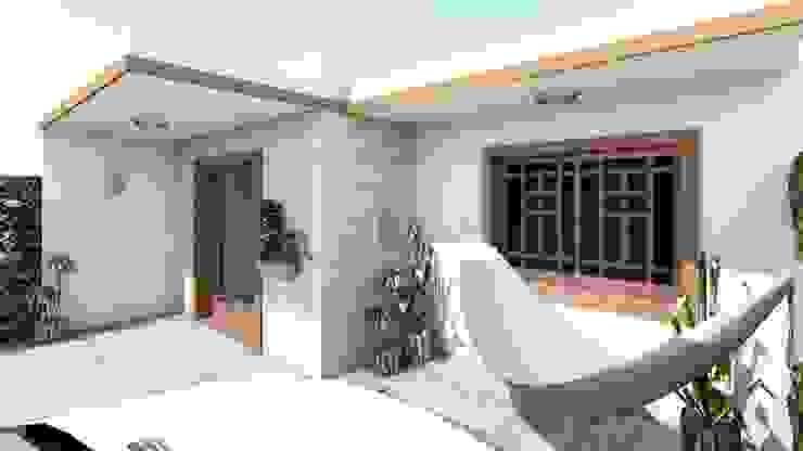 Casa Samambaia por Graziela Alessio Arquitetura Moderno Madeira maciça Multi colorido