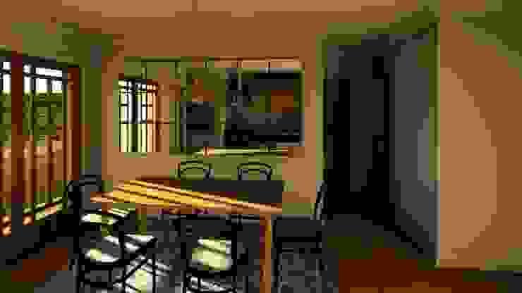 Casa Samambaia Salas de jantar clássicas por Graziela Alessio Arquitetura Clássico