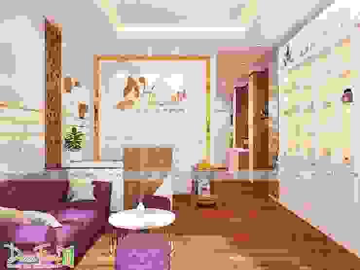 Mẫu thiết kế phòng lễ tân spa: hiện đại  by Công ty TNHH Funi, Hiện đại