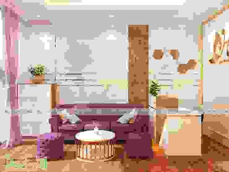 Phòng khách spa: hiện đại  by Công ty TNHH Funi, Hiện đại