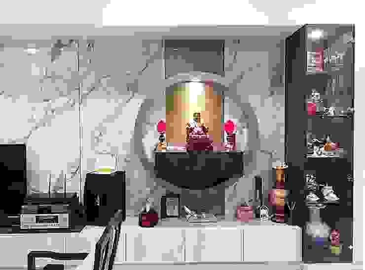 Modern Living Room by 業傑室內設計 Modern Wood Wood effect
