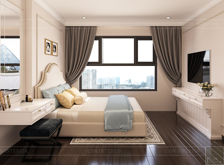 Modern style bedroom by ICON INTERIOR Modern