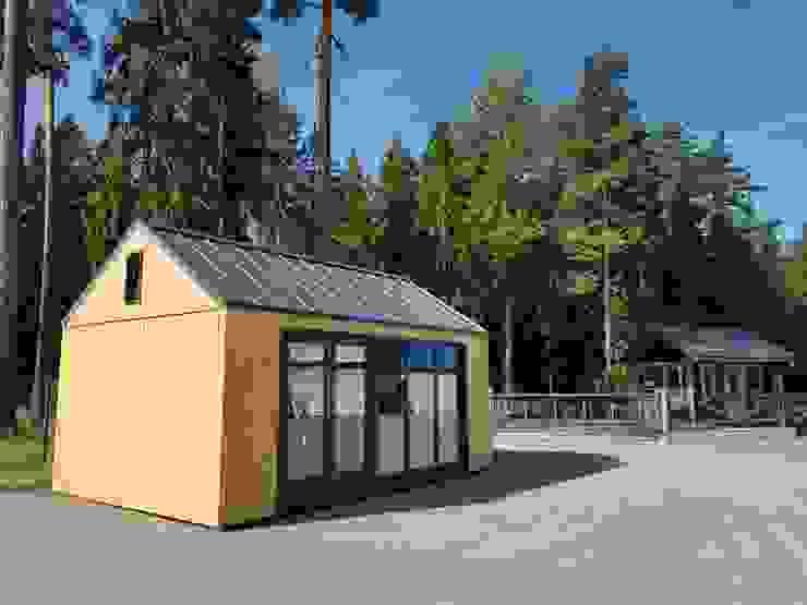 Tiny House (Montage abgeschlossen) von THULE Blockhaus GmbH - Ihr Fertigbausatz für ein Holzhaus Minimalistisch