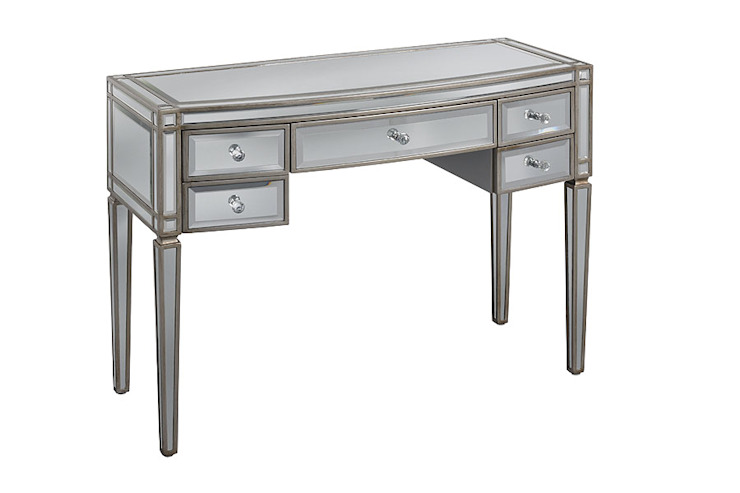 Antoinette Toughened Mirror Dressing Table by My Furniture
