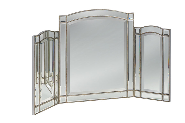 Antoinette Toughened Triple Fold Mirror by My Furniture