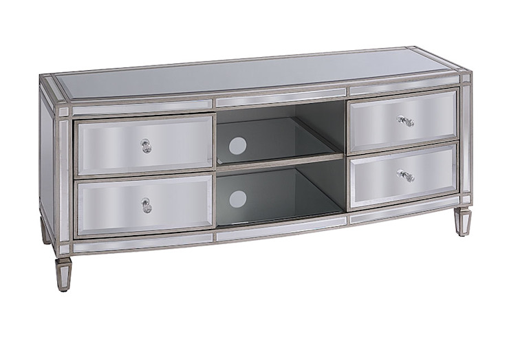 Antoinette Toughened Mirror Media Unit by My Furniture