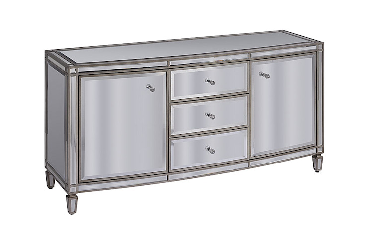 Antoinette Toughened Mirror Sideboard by My Furniture