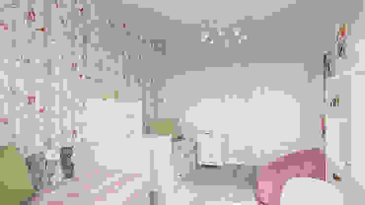 Chambre d'enfant originale par Дизайн студия Алёны Чекалиной Éclectique