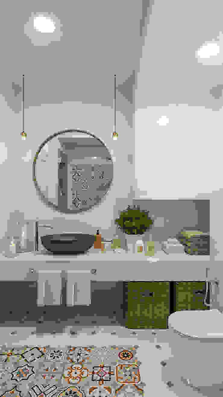 Salle de bain originale par Дизайн студия Алёны Чекалиной Éclectique