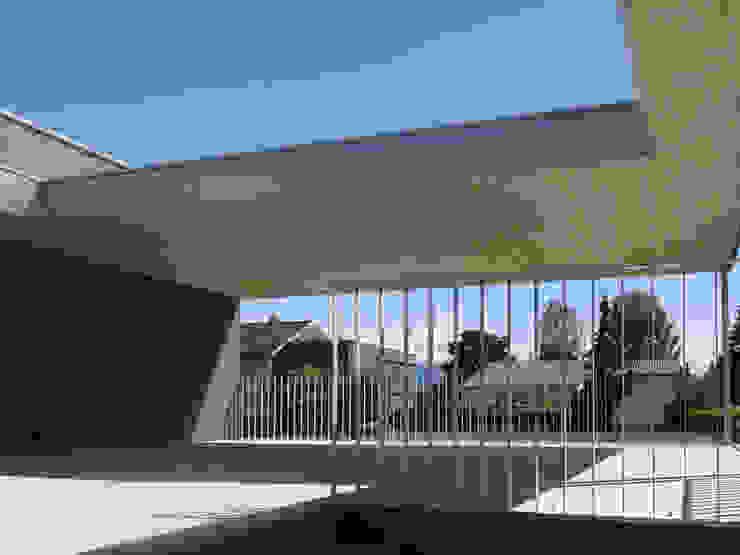 Modern Terrace by schroetter-lenzi Architekten Modern Aluminium/Zinc