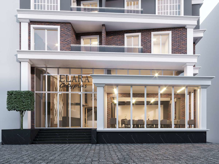 Hôtels modernes par VERO CONCEPT MİMARLIK Moderne