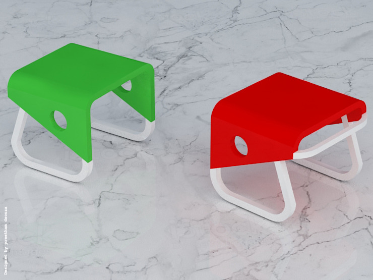 Stool: modern  by Preetham  Interior Designer,Modern Plywood