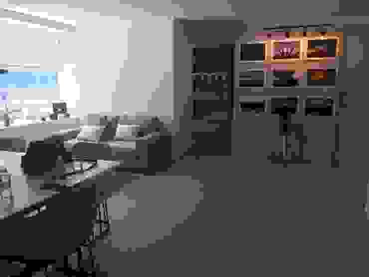 Diseño Interiores Departamento en CDMX. de HR® By Natalia Jiménez