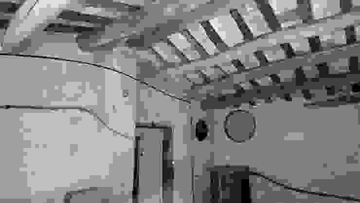 Esteve Arquitectes Teras atap Kayu Wood effect